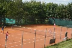 Das Tennisspiel